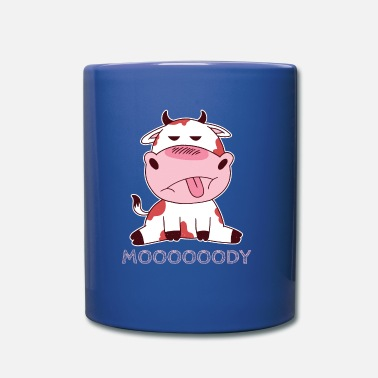 Casuals Funny Cute Cow Moooody - Mug