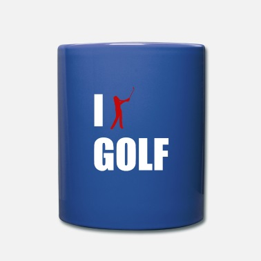 Réduction J'aime le golf Golfeur golfeur Golf Caddy Abschl - Mug