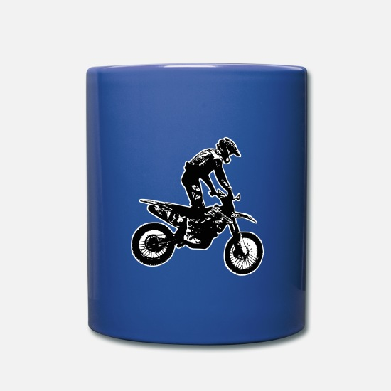 Freestyle Mugs & Drinkware - enduro black - Mug royal blue