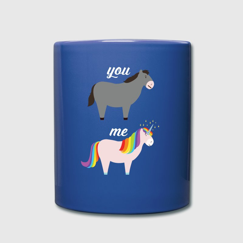 You VS Me (Donkey - Unicorn) - Full Colour Mug