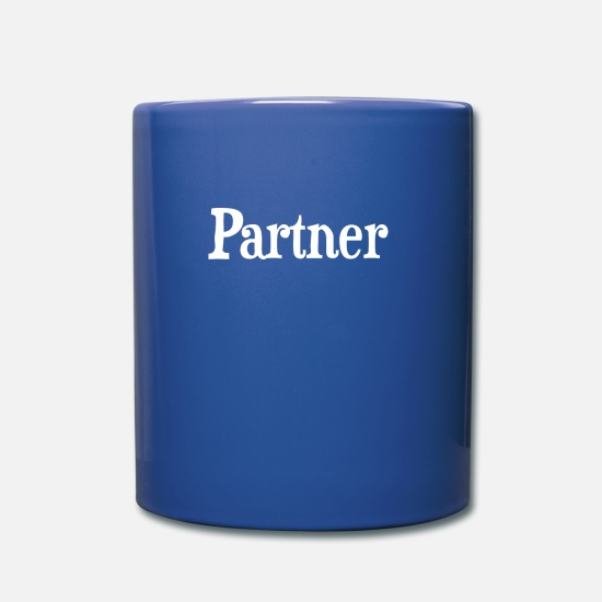 Partner Mugs & Drinkware - partner - Mug royal blue