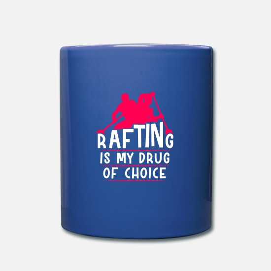 Rowing Mugs & Drinkware - Rafting Floss - Mug royal blue