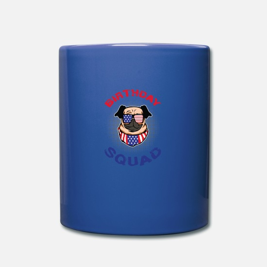 Birthday Mugs & Drinkware - Birthday Kids Birthday Birthday Squad - Mug royal blue