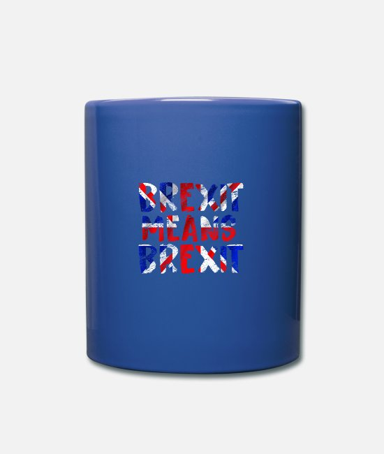 Europe Mugs et tasses - Royaume-Uni - Mug bleu royal