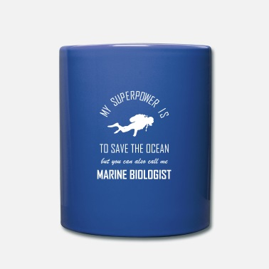 Familiar Marine biology marine biologist researcher ocean bio - Mug
