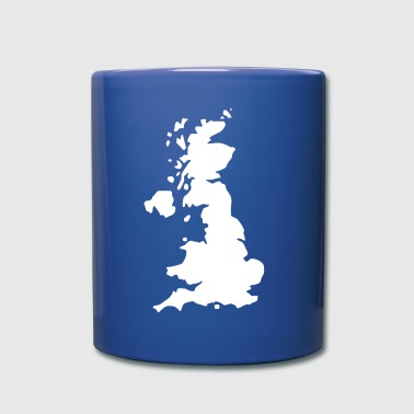 Karte UK, UK Map - Mug uni
