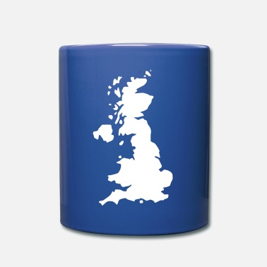Uk Karte UK, UK Map - Mug uni