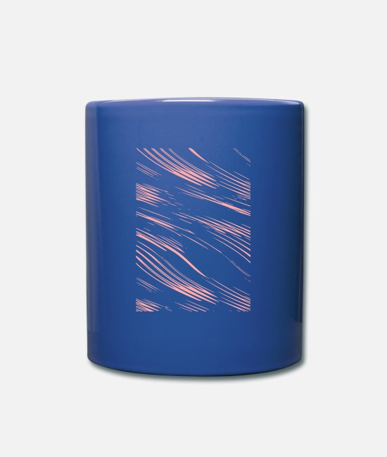 New Mugs & Drinkware - strip - Mug royal blue
