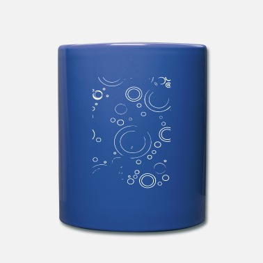 Abstraction Cercles de tendance - Mug uni