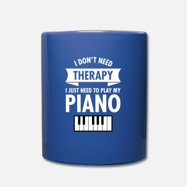 Pianoforte Therapy - Piano - Tazza monocolore