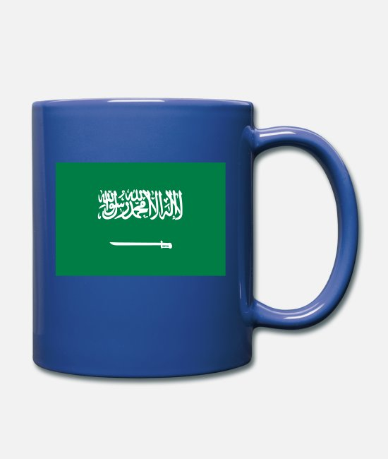Saudi Arabia Mugs & Drinkware - National flag of Saudi Arabia - Mug royal blue