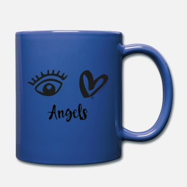 Eye-Love Angels Black - Mug