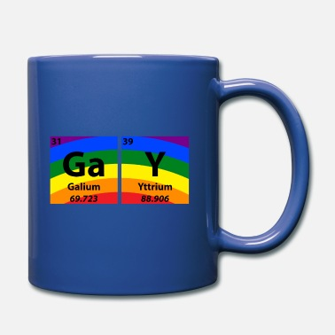 Queer Gay Periodic Table Of Elements Gift - Full Colour Mug