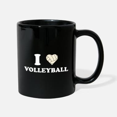 I Love Volleyball I love volleyball i love volleyball gift - Mug