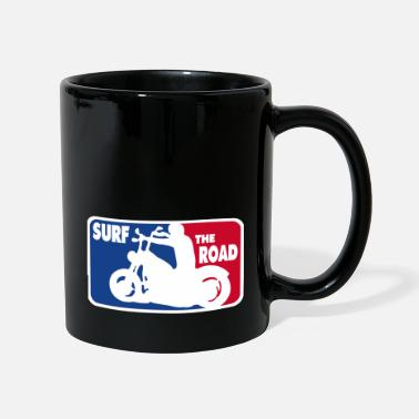 Asphalt Surf the Road - for bikers - Mug
