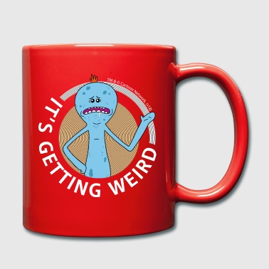 Rick And Morty Mr Meeseeks It's Getting Weird Mug - Full Colour Mug