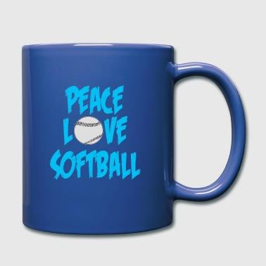 Softball Softball - Full Colour Mug