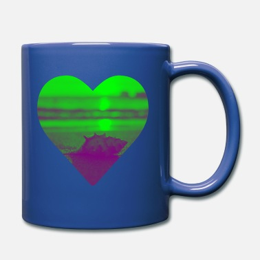 Mature Holiday maturity to the beach - Full Colour Mug