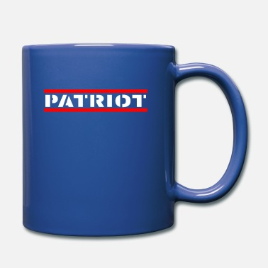 Patriota Patriot - Soy un patriota - Taza de un color