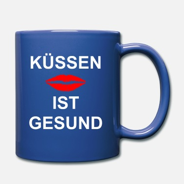 Smooch Kuessen kiss smooching - Mug