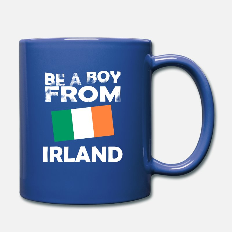 Patriot Mugs & Drinkware - Boy boy Ireland - Mug royal blue