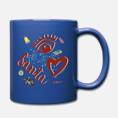 Eye-Love Santa red - Mug