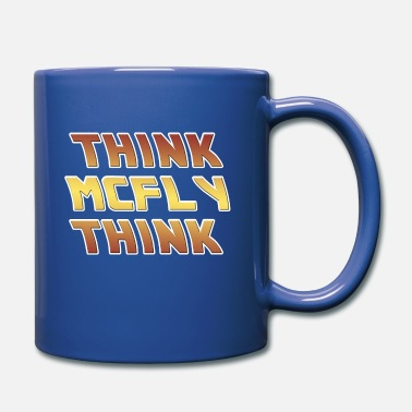 Back Back to the Future Think McFly Think - Mug