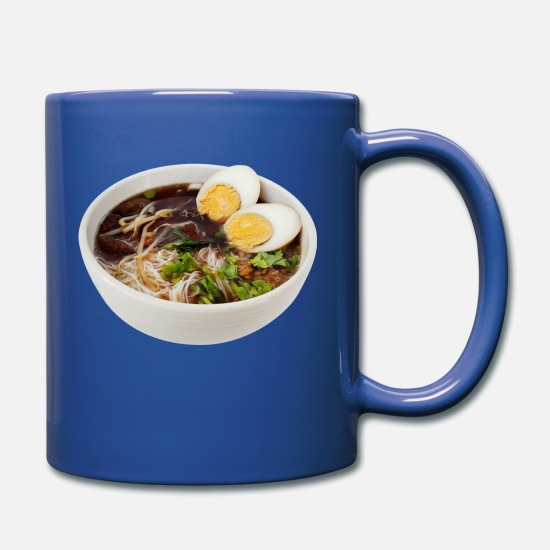 Gift Idea Mugs & Drinkware - noodle soup - Mug royal blue