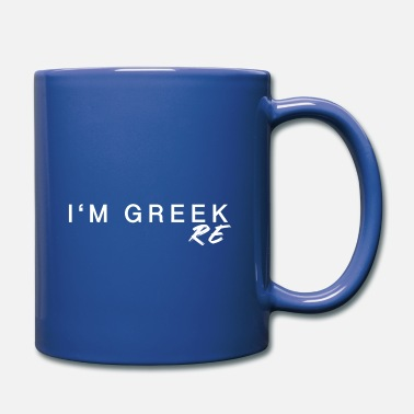 Black Greeks IN GREEK RE - Mug