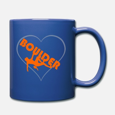 Boulder bouldering - Full Colour Mug