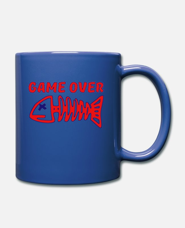 Pro Gamer Mugs & Drinkware - GAME OVER - Mug royal blue