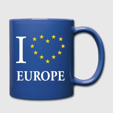 I Love Europe / I Heart Europe (Europa) - Tazza monocolore