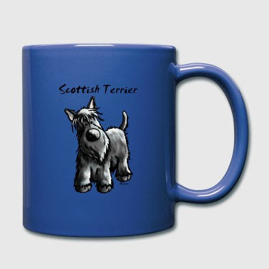 Cute Scottish Terrier - Full Colour Mug