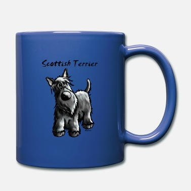 Dog Cute Scottish Terrier - Full Colour Mug