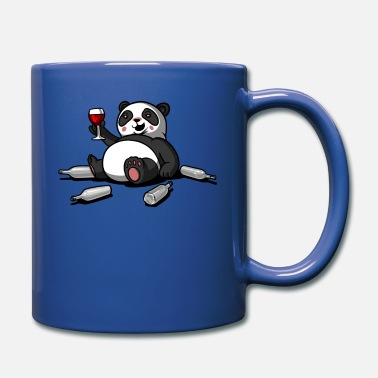Party Lustiger Panda Bear Wine Drinking Party - Tasse