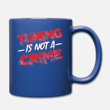 Performance TUNING IS NOT A CRIME tuning vintage d - Tasse