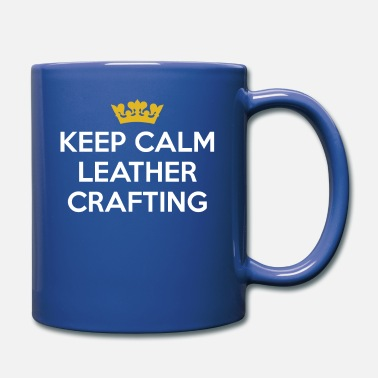 Skin Keep Calm Leather Crafting leather manufacturer - Mug