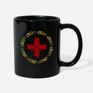 Cristiano Related To Christ Whirl Gold Cross Faith - Taza