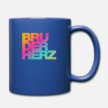 Brother heart Best brother in the world gift idea - Mug