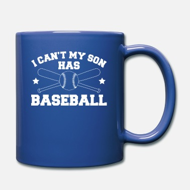 Casco I Can´t My Son Has Baseball T-Shirt Son - Tazza