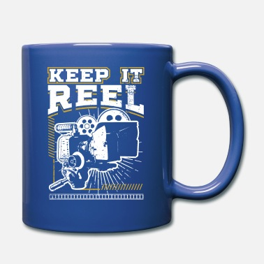 Glamour Lustiges Keep It Real Filmemacher-Filmliebhaber-Geschenk - Tasse