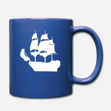 Sailing Sailing Ship Pirate Ship Gift T-Shirt - Mug