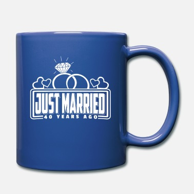 40th Just Married 40 Years Ago T-Shirt partner look - Mug