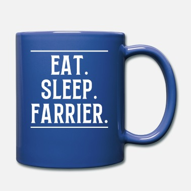 Metal Regalo de camiseta Eat Sleep Farrier - Taza