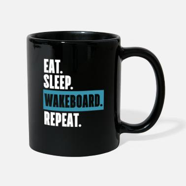 Sport Extrême Eat Sleep Wakeboard Repeat T-Shirt cadeau - Mug