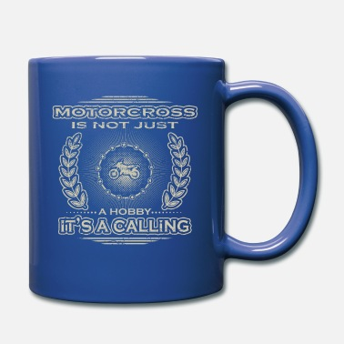 Racy not a hobby calling job determination motorcross raci - Mug