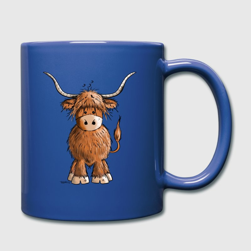Scottish Highland Cattle - Full Colour Mug