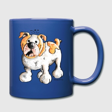 Bulldog - Taza de un color