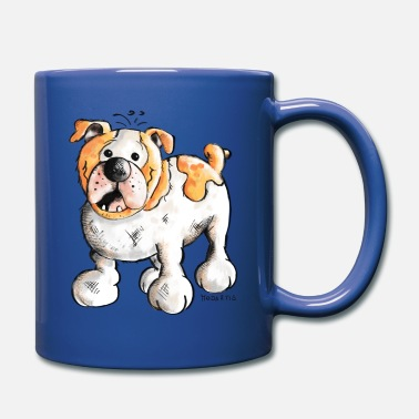 Bulldog Bulldog - Taza de un color