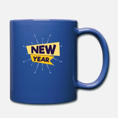 New Year New Year New Year New Year - Full Colour Mug